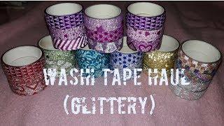 E43 Glittery Washi Tape Haul | Uriel TV