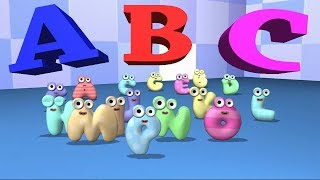 ABC Alphabet Song 3D | Baby & ABC Songs for Children | Nursery Rhymes Animals Song for Kids