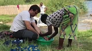Rwanda Péninsule de Rubona Thermes Massage /  Rwanda Rubona Peninsula Baths Massage