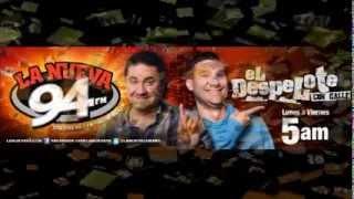 El Despelote por La Nueva 94 - Radio Quejas Diciembre 6 con Yomo Pa' !