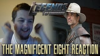 DC's Legends of Tomorrow Season 1 Episode 11: The Magnificent Eight Reaction