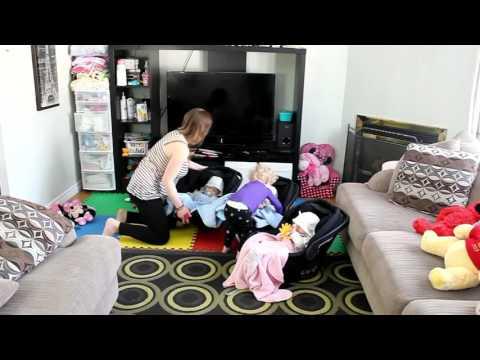 Mom vs Triplets + Toddler + Mini Van