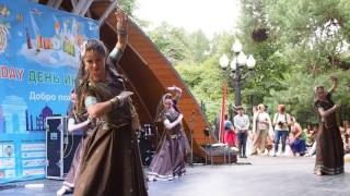 Deewani mastani dance performance India day 2016 Moscow