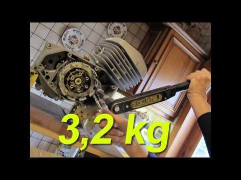 REVISIONE MOTORE MINARELLI P6 parte 4 Montaggio Frizione