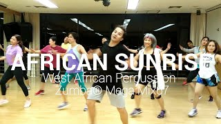 African Sunrise - West African Percussion | Zumba ® Mega Mix67 | By MiwMiw | The Diva Thailand