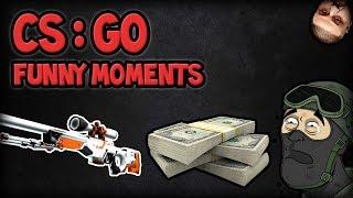 2,000 DOLLAR SHOT, DJ KHALED, FETTY WRAP! (CS:GO Funny Moments)