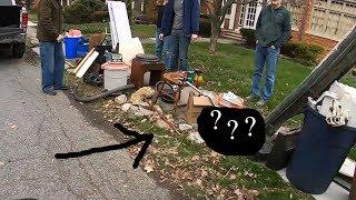 Trash Picking in RICH Neighborhood - Ep. 204