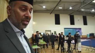 Inside Britain's largest mosque, Baitul Futuh, in Morden