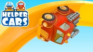 Helper cars 5. Cars games & baby cartoon.
