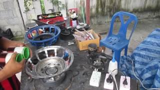 ซ่อมโมลำโพงซับรถยนต์ 12 นิ้ว วีดีโอ   #02 วันที่ 26/05/2559