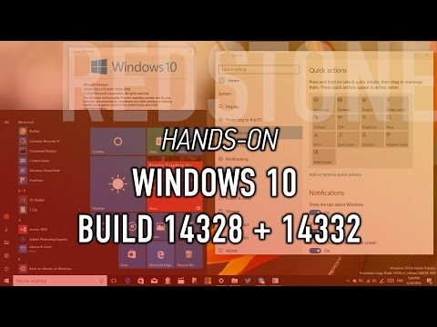Xxx Mp4 Windows 10 Build 14328 14332 Hands On With New Start Action Center Windows Ink Everything 3gp Sex