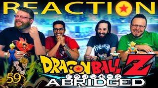 TFS Dragon Ball Z Abridged REACTION!! Episode 59