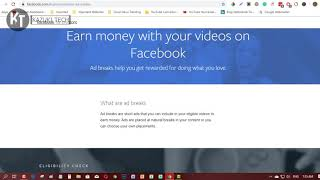 How to Apply Facebook Ad Break in Less than 1 minute and Check the Minimum Requirements