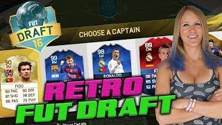 THE RETRO FIFA HIGHEST RATED FUT DRAFT CHALLENGE!