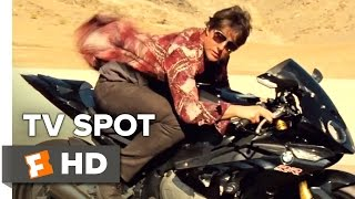 Mission: Impossible - Rogue Nation TV SPOT - Motorcycle (2015) - Tom Cruise, Simon Pegg Movie HD