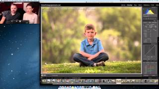 Lightroom editing workflow for portrait photography