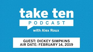 Take Ten with Alex Roux: 3x NBA Champion Dickey Simpkins | NBA | Big Ten Basketball