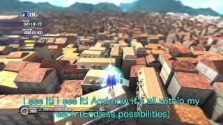 Endless Possibility Full&Lyrics Sonic Unleashed  theme 歌詞付