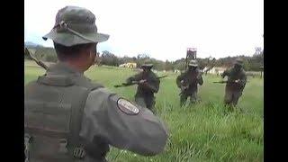 Venezuela Military tries to scare US Marines
