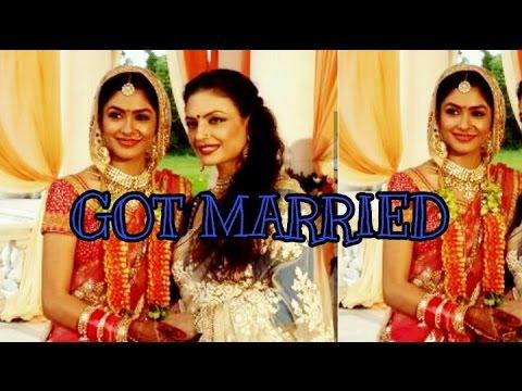 Xxx Mp4 Bulbul Of Kumkum Bhagya Aka Mrunal Thakur Got Married Watch Full Marriage Video 2017 3gp Sex