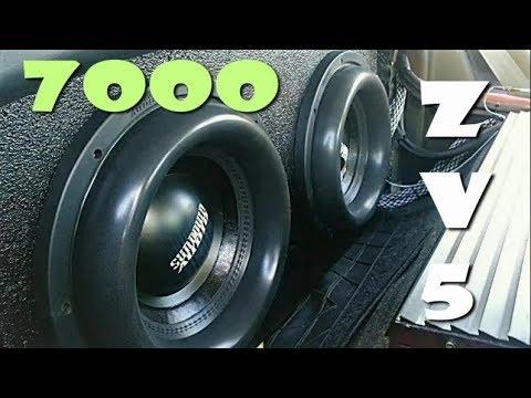 Sundown Audio ZV5 12's on 7000 watts UPDATE!