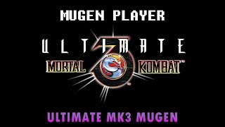 ULTIMATE MORTAL KOMBAT 3 MUGEN