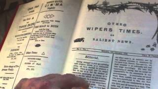BOOK REVIEW,THE WIPERS TIMES, COMPLETE SERIES OF THE WARTIME TRENCH NEWSPAPER