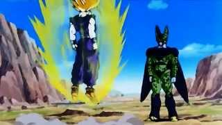 SSJ2 Gohan vs Cell Jrs  720p HD   YouTube