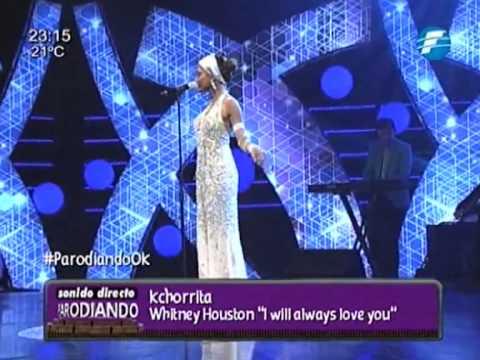 Mily La Kchorrita parodia a Whitney Houston. Programa 05 ParodiandoOk