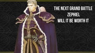 The Next Grand Battle Hero: Zephiel is coming later this month. Will he be worth it?