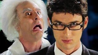 Doc Brown vs Doctor Who.  Epic Rap Battles of History Season 2.