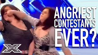 Angriest Contestants EVER? | X Factor Global