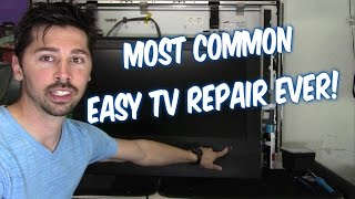 WATCH THIS VIDEO BEFORE THROWING OUT YOUR BROKEN FLAT SCREEN TV!!!