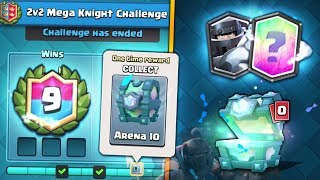 NEW LEGENDARY CHEST MEGA KNIGHT CHALLENGE! | Clash Royale | OPENING ALL 2v2 MEGA KNIGHT REWARDS!