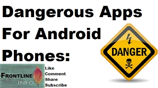 Dangerous Apps For Android Phone | Never Download these Apps [hindi]