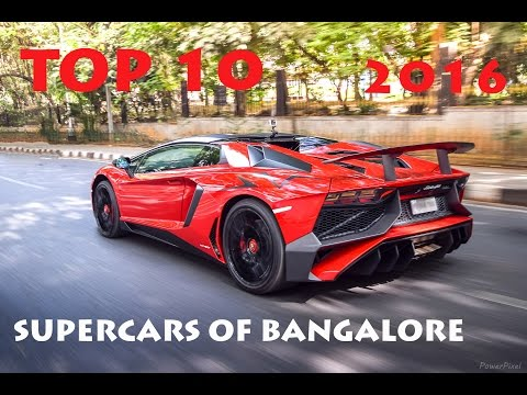 Xxx Mp4 TOP 10 SUPERCARS OF BANGALORE INDIA 2016 3gp Sex