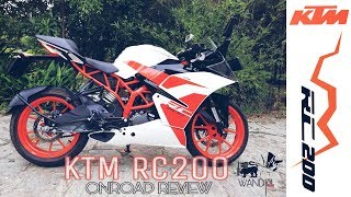 KTM RC200 Review | SRI LANKA
