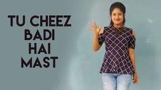 Tu Cheez Badi Hai Mast Dance | Udit Narayan |Neha Kakkar |Machine - Swetha Naidu | Pranavi | Pavani