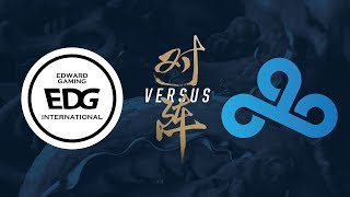 EDG vs. C9 | Group Stage Day 8 | 2017 World Championship | Edward Gaming vs Cloud9