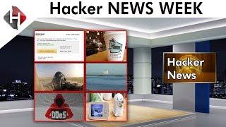 Hacker News Week - Amazon, Carbeou Coffee, Air Force, NASA, Uber, DDoS, Baby Monitor