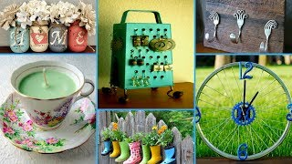 💗60 Creative ideas to Reuse Old Things - DIY Recycled Home Decor Projects💗