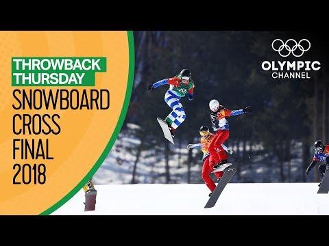 Xxx Mp4 Snowboard Cross Finals Pyeongchang 2018 Ft Michela Moioli Throwback Thursday 3gp Sex