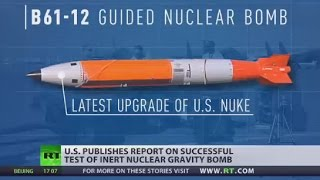 US successfully tests new nuclear gravity bomb