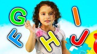 ABC Song with Ashlynn Joy! Featuring F G H I J   Part 2