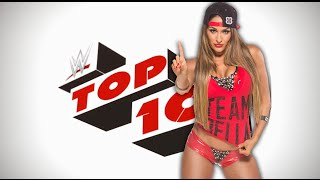 WWE Top 10- Nikki Bella Moves