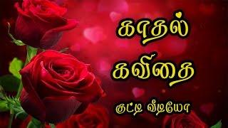 🌹💜 Kadhal Kavithai Tamil (Love Quotes Tamil Whatsapp Video} 🌹💜❤💕