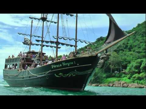 Barco Pérola Negra Florianópolis Piratas do Brasil Agência de Turismo