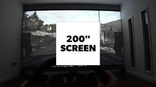 Dirt Rally on a 200