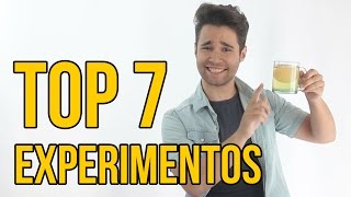 TOP 7 EXPERIMENTOS PARA NIÑOS - Experimentos para hacer en casa (RECOPILACIÓN)