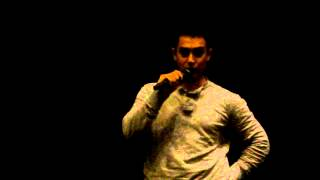 Aamir Khan & Deven @ University of Southern California !